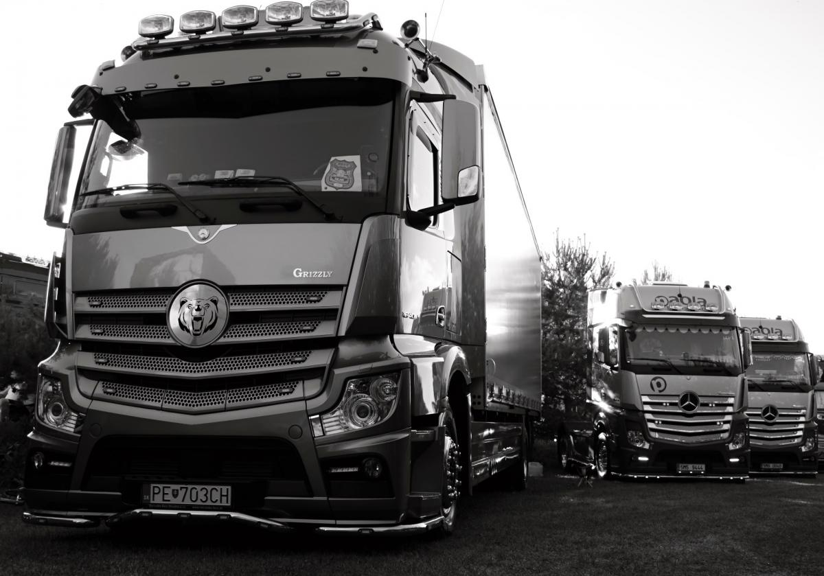 Actros brothers black and white